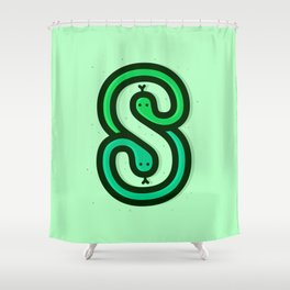 S is for... Shower Curtain