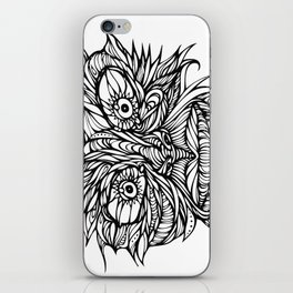 Face Flow Line iPhone Skin