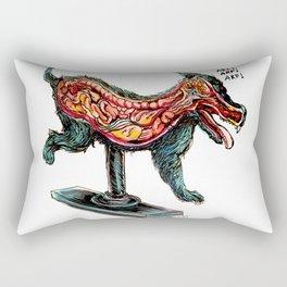 Half Dog Rectangular Pillow