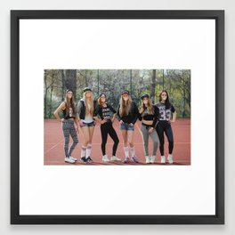 Bubble Gum / Girls Crew Framed Art Print