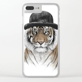 Welcome to the jungle II Clear iPhone Case