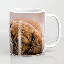 Puppy Napping Coffee Mug