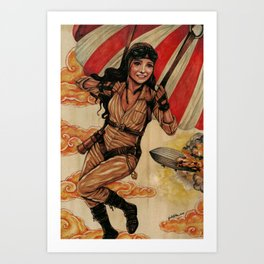 The Aviator Art Print