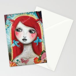 Alice's on Stage by CJ Metzger Stationery Cards