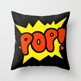 'Pop!' Explosion Throw Pillow