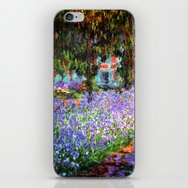 Claude Monet The Artist's Garden at Giverny iPhone Skin