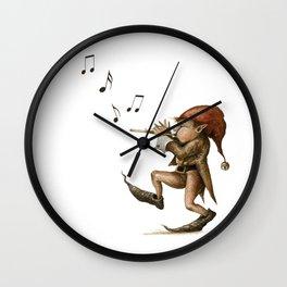 Pixy Flute Wall Clock