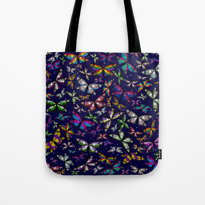 Fly With Pride: Butterfly Bonanza Tote Bag
