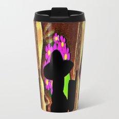 Cabsink17DesignerPatternWTEO Metal Travel Mug