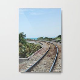 Off the Rails Metal Print
