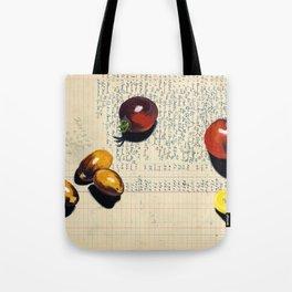 Heirloom Tomatoes in Gouache Tote Bag