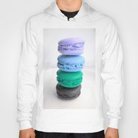 macarons Hoodies featuring macarons / macaroons by Whimsy Romance & Fun
