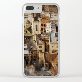 Old town Clear iPhone Case