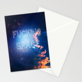 Fucking Space Stationery Cards