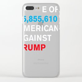 Americans Against Trump Clear iPhone Case