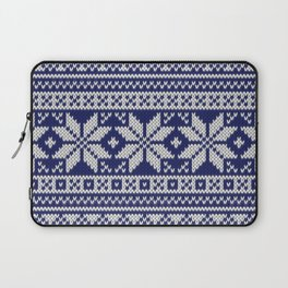 Winter knitted pattern 2 Laptop Sleeve