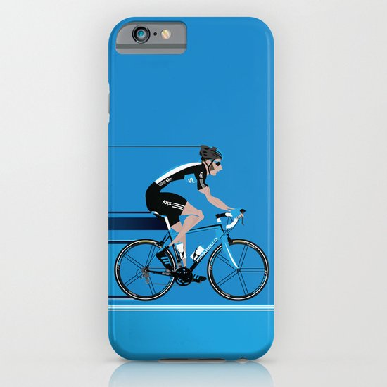 Bradley Wiggins Team Sky iPhone & iPod Case