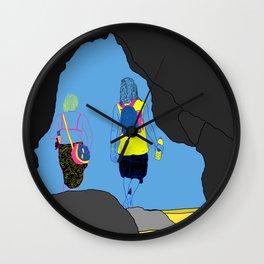 Amor Arrastrado Wall Clock