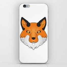 Vulpes Vulpes - Red Fox iPhone Skin