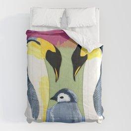 Penguin love Comforters