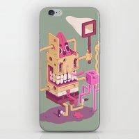 spongebob iPhone & iPod Skins featuring Spongebob by Mike Wrobel