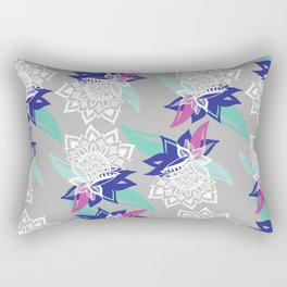 Native Flowers Rectangular Pillow