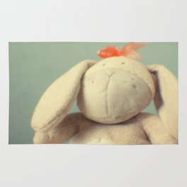 Easter bunny Rug