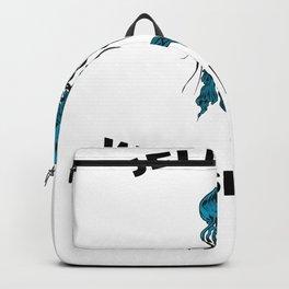 Funny Jellyfish Whisperer Backpack