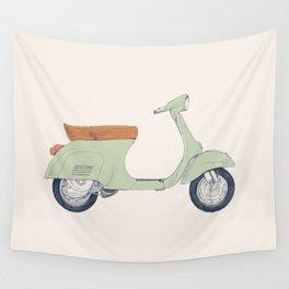 Italian Moto Wall Tapestry