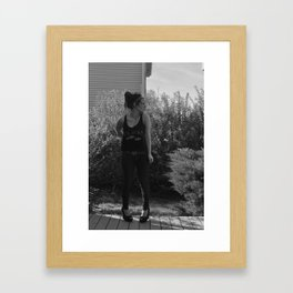 Setting free Framed Art Print