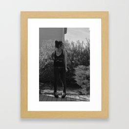 Setting free Framed Art Print