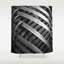 Night Palm Shower Curtain