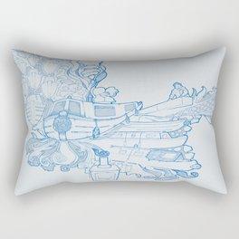Narrowboating Rectangular Pillow