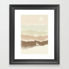 Quietude (II) Framed Art Print