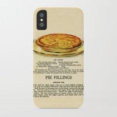 Pies - Vintage iPhone X Slim Case
