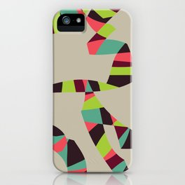 Abstract Vintage Art iPhone Case