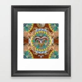 ▲ HANSKA ▲ Framed Art Print