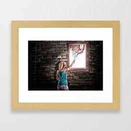 GIRL 3 Framed Art Print