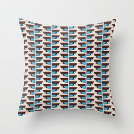 Duck wings surface patterns Throw Pillow