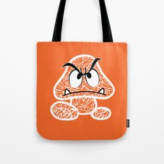 Goomba #CrackedOutBadGuys Tote Bag