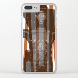 Beauty Naomi Clear iPhone Case