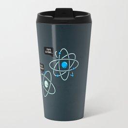 Negative Atom Travel Mug