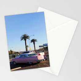 Pink Cadillac Stationery Cards