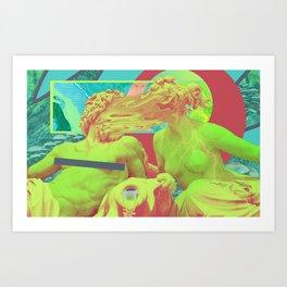 """""""Tripple"""" (trippy nipple) Art Print"""