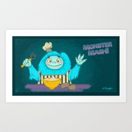 Monster Mash! Art Print