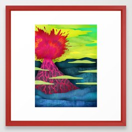 To the Sky Framed Art Print