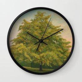 Trees of Trent Park #3 Wall Clock