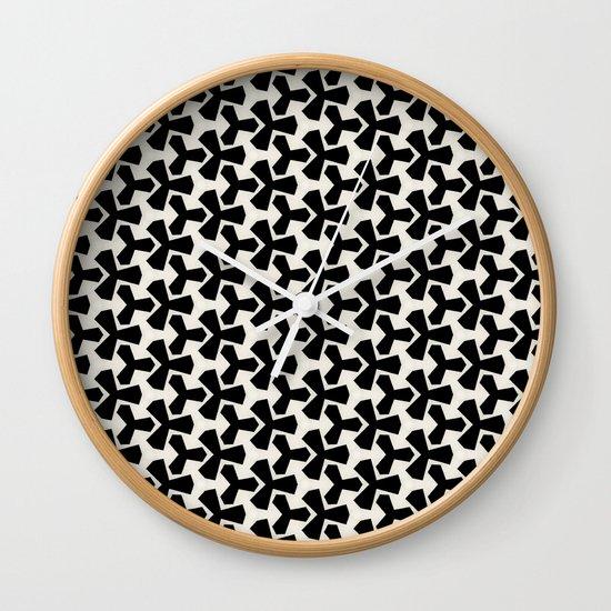 Van Klaveren Pattern Wall Clock