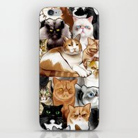 tigger iPhone & iPod Skins featuring Tigger by EggsBFF
