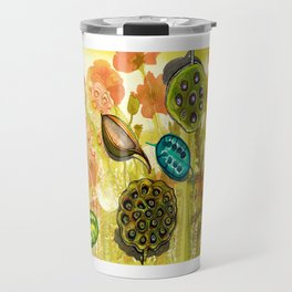 seedpods Travel Mug